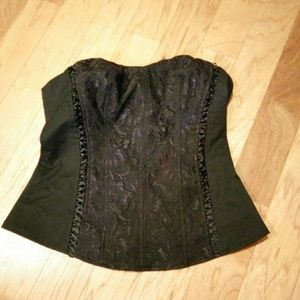 Express Lace Front Bodice